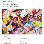 contemporary painting, painter, german painter, german abstract artist, the brick lane gallery london, exhibition, 2015