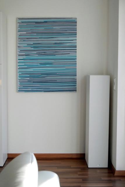 series emotional acrylics, abstrakte Kunst grün, place of relaxation, astridstoeppel.com, german abstract art, german artists, modern, contemporary, Astrid Stöppel, Saatchi Art, buy art online, Online Shop, with another grey morning!