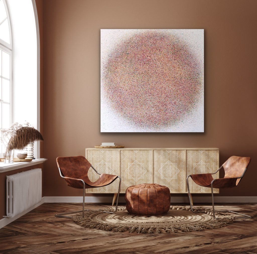 Abstract and contemporary art painting from Astrid Stoeppel. Astrid Stöppel is a professional german woman artist located near to Munich. Buy her artworks online at Saatchi Art or Singulart Shop. Purchase modern art to invest.